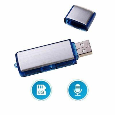8GB Digital Diktiergerät USB Audio Voice Recorder MP3 Musik Aufnahmegerät DE