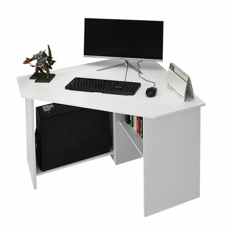 Computer Games - Corner Desk Computer Table Laptop Workstation Gaming Desktop Home Study Office