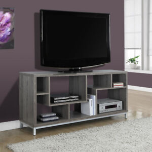 """Monarch TV Console, 60""""L, Dark Taupe Reclaimed-Look"""
