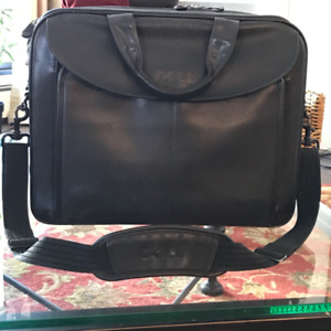 Leather briefcase Dell