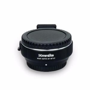 Commlite Electronic MF / AF Adapter for Canon EF EF-S Lens to M4/3 MFT Camera