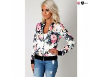 ** GORGEOUS WOMEN'S FLOWER PRINT JACKETS FOR SALE **