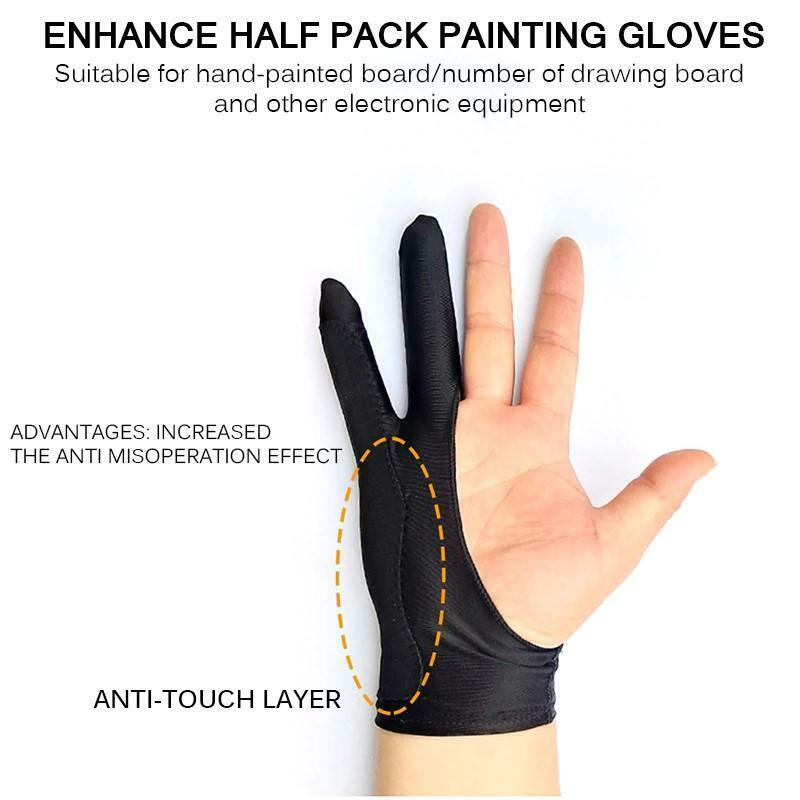 Artist Gloves - Anti-Touch Drawing for Tablet, iPad, Procreate