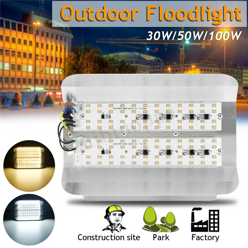 50W 100W LED Flood Light Spot Lamp Bulb Landscape Outdoor Ga
