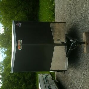 rear ramp door cargo trailer 6 x12 V nose 2017