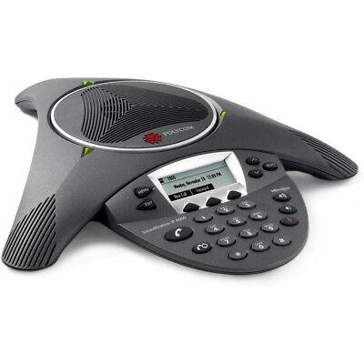 Polycom Soundstation Ip6000 Conference Speaker Phone 2201-15600-001 1 Year