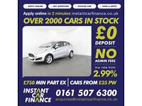 Ford Fiesta Zetec Hatchback 1.2 Manual Petrol LOW RATE FINANCE AVAILABLE