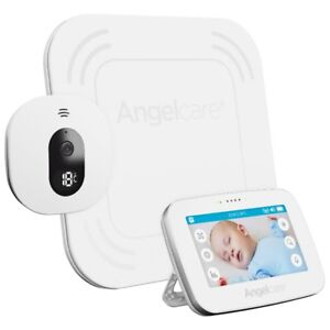 Angelcare Movement, Audio, Video Baby Monitor with 2-Way Audio