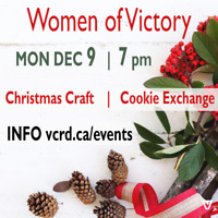 Victory Women's Christmas Craft & Cookie Exchange
