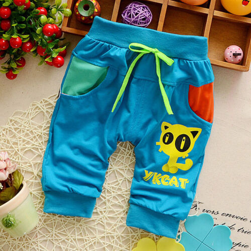 Infant Kids Baby Boys Clothes Pants Trousers Toddler Boy Summer Fashion Clothing