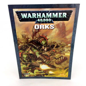 Warhammer 40K Orks Codex Book 4th Edition Games Workshop 40,000