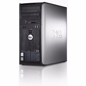 Tower Computer - DELL P4 2.8GHz W7P