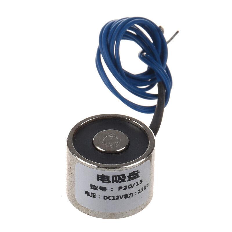 Sucked Electric Lifting Magnet Electromagnet 12VDC 2.5Kg 5.5LB 20x15mm T1B6