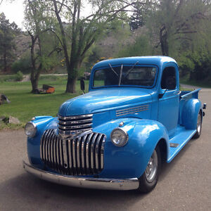 1946 Chev Pickup with New Motor - UPDATED PICS