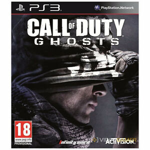 Call of Duty Ghosts PS3 brand new sealed
