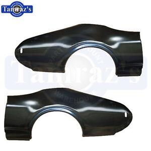 68-69 Cutlass Holiday & Sport Rear Quarter Panel Skin / Patch - Pair LH & RH New