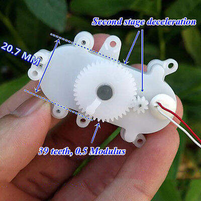 Dc 3v 3.7v 24rpm Mini Coreless Worm Gear Motor Gearbox Slow Speed Diy Toy Parts