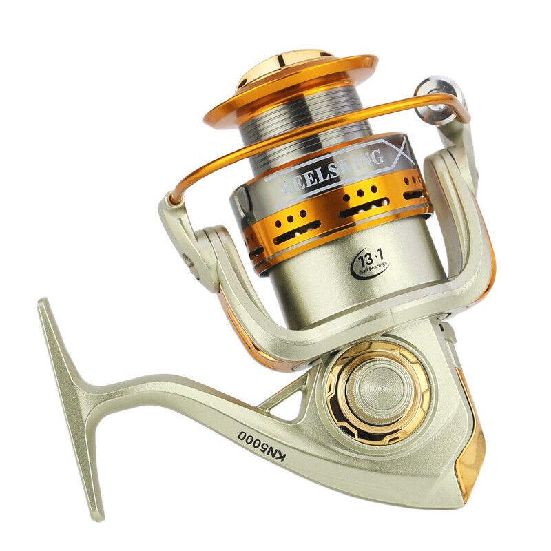 12BB Ball Bearing RightLeft Handed Saltwater Freshwater Fishing Spinning Reel AL