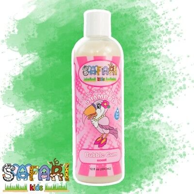Safari Kids Hair Shampoo - Bubble Gum