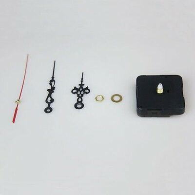 Simple Black Hands DIY Quartz Wall Clock Movement Mechanism Replacement CA