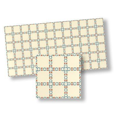 Dollhouse Miniature Mosaic Floor Tiles by world Model Miniatures