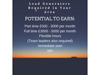 Affiliate marketers wanted, Commission based job, earn £50-5000