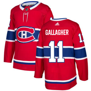 #11 GALLAGHER MONTREAL CANADIENS JERSEY / CHANDAIL HABS