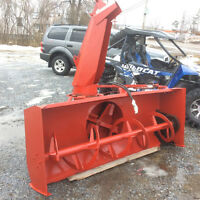 """Blower for tractor 88"""" hydraulic shoot meteor Canada built $2500"""