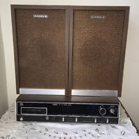 Free stereo with purchase of wood cabinet for $10.00