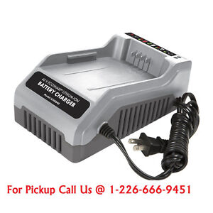Snow Joe iCHRG40 Eco Sharp Lithium-Ion Charger for iBAT40 40V
