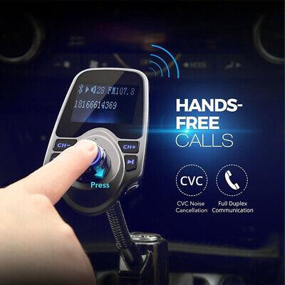 In-Auto Wireless Bluetooth FM Transmitter MP3-Radio-Adapter im Car USB-Ladegerät (Fm-transmitter Bluetooth Auto)