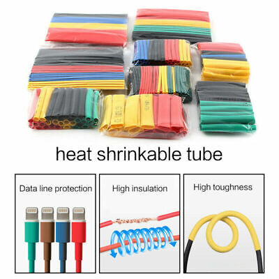 164pcsset Heat Shrink Tube Kit Insulation Sleeving Termoretractil Polyolefin