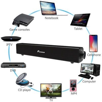 Sound Bar TV Soundbar Wired and Wireless Bluetooth Home Theater TV Speaker