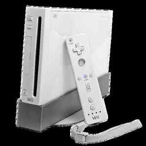 NINTENDO Wii + GAMES + 2000 Points CARD