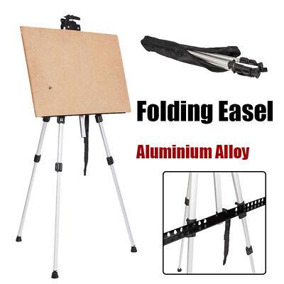 - Art Supply Portable Folding Aluminum Tripod Easel Stand Artist Painting White US