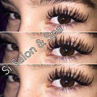 QUALITY EYELASH EXTENSIONS IN SPA SPECIAL $90 MINK SILK