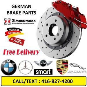 BRAKE SET- BMW- PORSCHE - MERCEDES BENZ -MINI - JAGUAR –