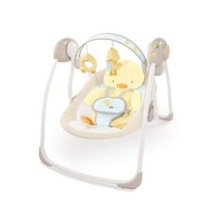 FOR SALE - Bright Starts Comfort & Harmony Duckling Portable Swi