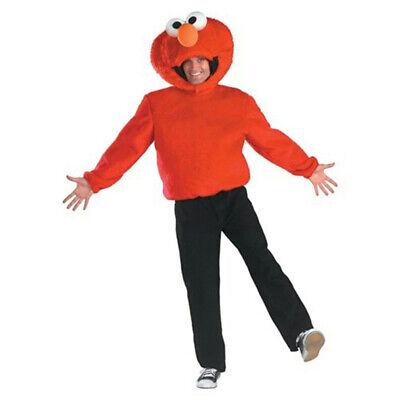 Sesame Street Costumes Adult (Sesame Street: Elmo Adult  Full Costume)