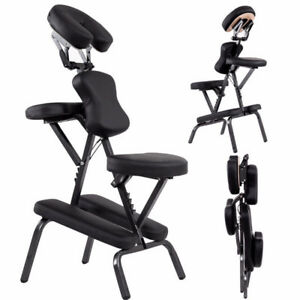 NEW PORTABLE MASSAGE CHAIR LEATHER TRAVEL CHAIR TYC88