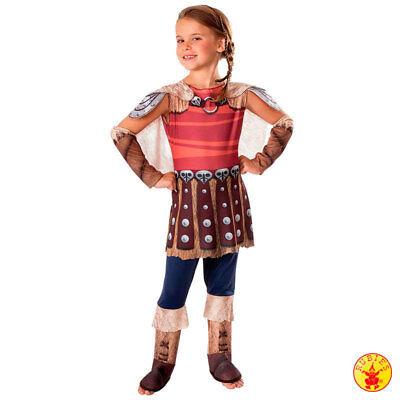 Rubies Drachen zähmen leicht gemacht 2 Astrid Kinder Kostüm Fasching Kleid (Leichte Kinder Kostüme)