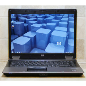"HP 6735b Laptop 4GB RAM DVDRW 60GB Webcam 15.4"" AMD Dual Core"