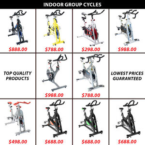 Indoor Cycling Group Spin Bike Magnetic Cycle Cardio Pedal Ecb