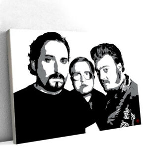 Trailer Park Boys Original 48X36 Acrylic Painting 1/1