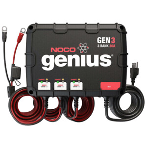 NOCO GEN3  3-BANK ON BOARD BATTERY CHARGER