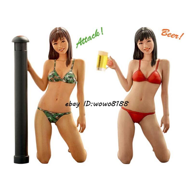 70mm 1:20 Outer Space Girl /& Bear Model Resin Figure Kit Unpainted Garage Kit