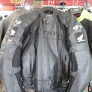 HONDA Joe Rocket Leather Motorcycle Jacket ONLY $120