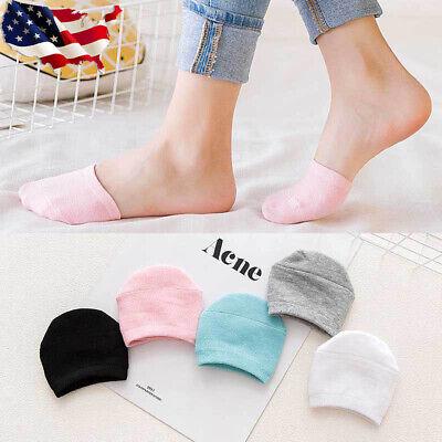 10 Pairs Women Non Slip High Heels Sandal Invisible Half Footie Cotton Socks USA Non Cotton Socks