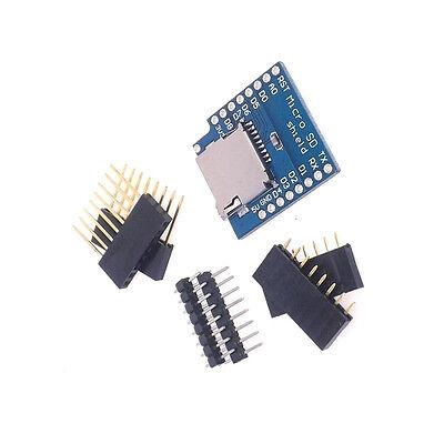 2 Pcs New Micro Sd Card Shield For Wemos D1 Mini Tf Wifi Esp8266 Arduino
