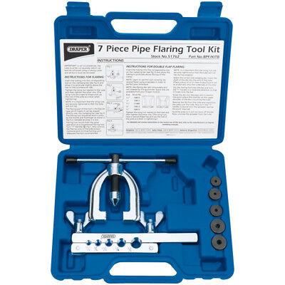Draper Car / Plumbing Brake Pipe Flaring Flare Tool Installation Kit Set, 51762